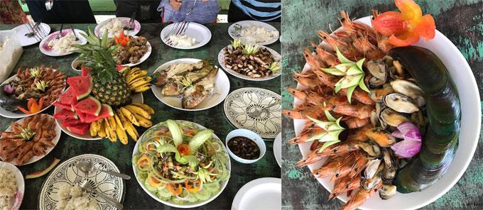 Ăn uống ở El Nido cũng khá phong phú. Buổi tối, du kháchcó thể ăn ở các nhà hàng ven <a  href=