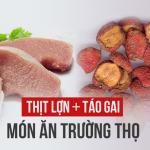 """Thịt lợn nấu cùng loại trái cây này sẽ trở thành """"món ăn trường thọ"""""""