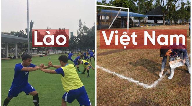 """Indonesia xếp cho Lào sân """"xịn"""" trong khi để U23 Việt Nam phải tập trên """"sân ruộng"""""""