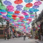 Cần gì tới Bồ Đào Nha, ngay ở Vạn Phúc cũng có con đường ô đẹp xuất sắc để check-in